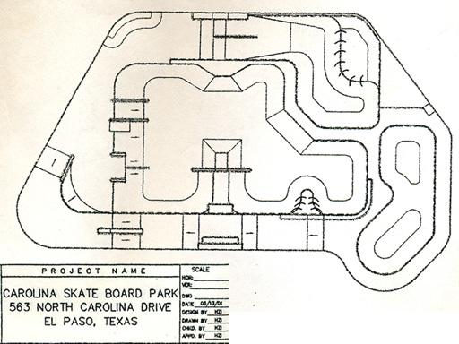 Carolina Blue Print 512w