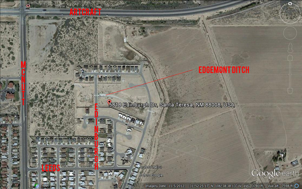 Edgemont ditch map 5818 Edinburgh 600w